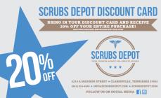 Scrubs Depot coupon code