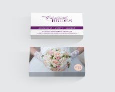 Clarksville Brides business cards