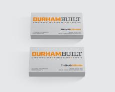 Durham Built business cards