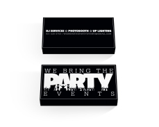 We Bring the Party business cards
