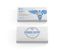 Scrubs Depot business cards