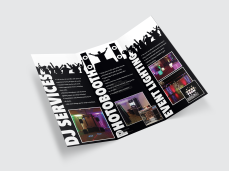 We Bring the Party Events brochure (inside)